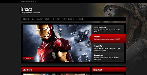 вордпресс тема для игрового сайта